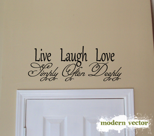 live laugh love home livingroom vinyl wall quote decal ebay