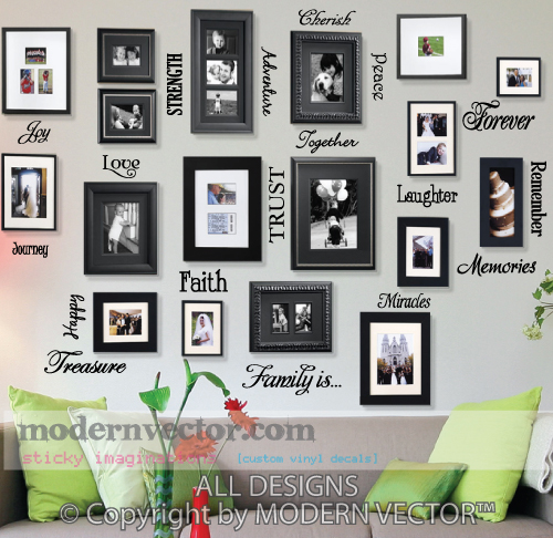 Extra Large Collage Frames Quotes